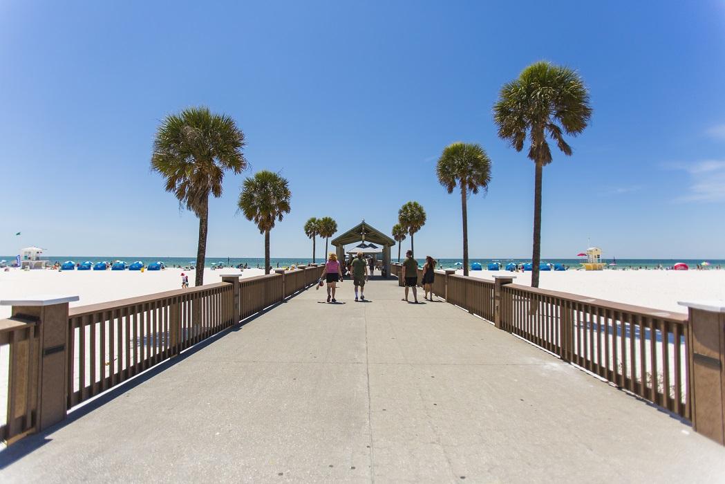 A Hora Y Media De Orlando En St Pete Clearwater Estan Las Mejores Playas De Los Estados Unidos