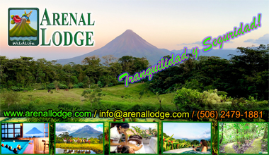 Arenal Lodge, Volcano and Lake View Rainforest Hotel, Costa Rica